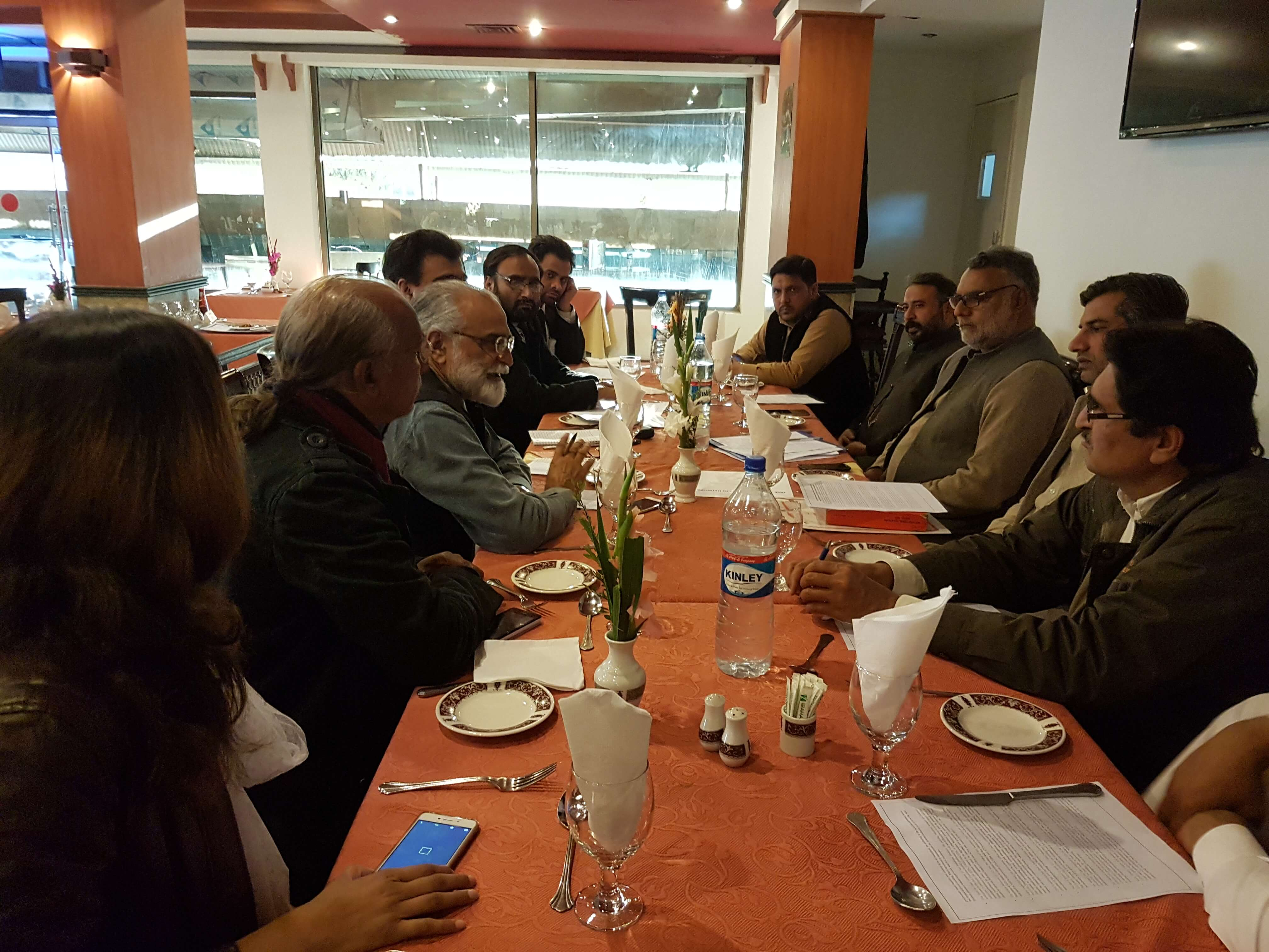 INSPIRING Pakistan holds civil society meeting on Islamabad LGs