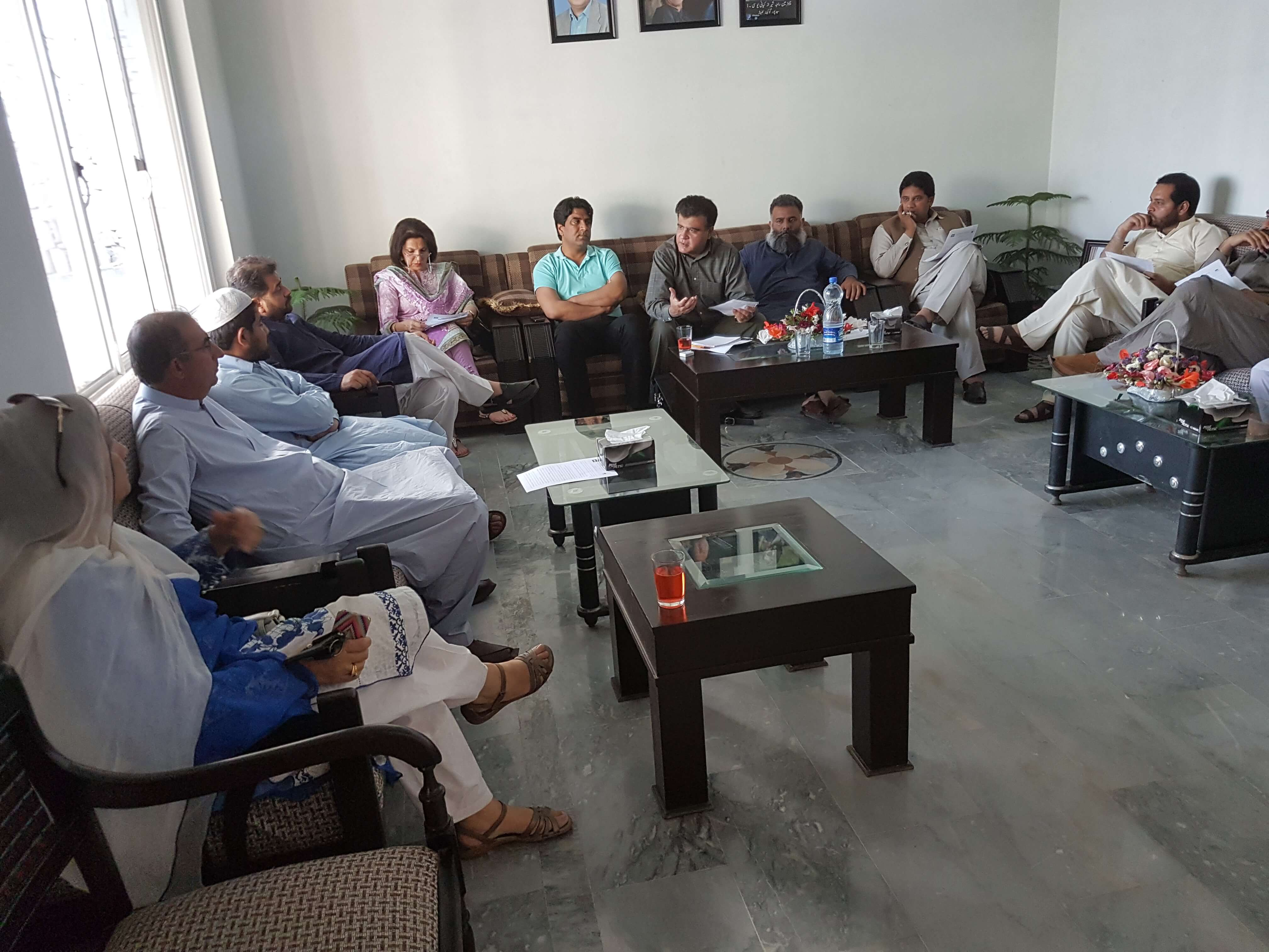 INSPIRING shares research findings with PTI councillors