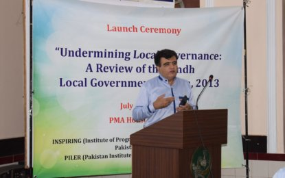 INSPIRING launches Sindh LG System Review Report
